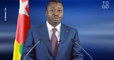 Message de voeux du Président Faure Essozimna Gnassingbé