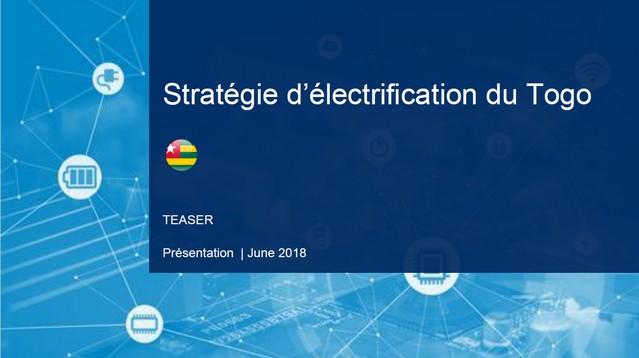 Une table ronde sur la  Stratégie Nationale d'Électrification du Togo